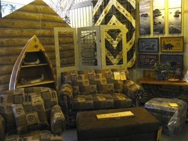 ... Interior Of Northern Rustics With Furniture   Holland, Michigan