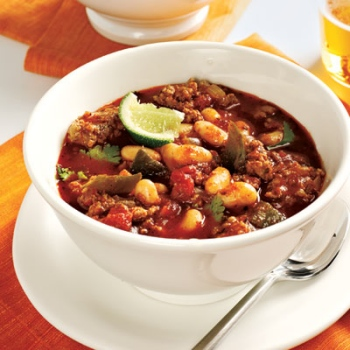 Crock Pot 3 Bean Turkey Chili Recipe — Dishmaps