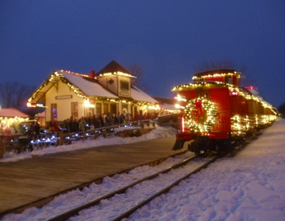 Christmas Trains in Michigan