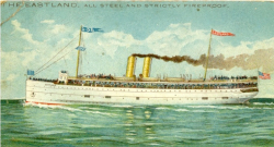 SS Eastland from postcard in 190¶