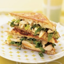 Picture of a Chicken Caesar Panini