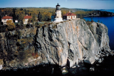 Split Rock Lighthouse Aerial View