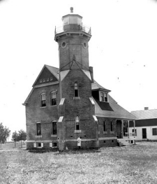 Squaw Island Light from the US Coast Guard Archive